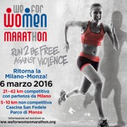 We for Women Marathon contro violenza