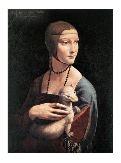 Dama con l'ermellino