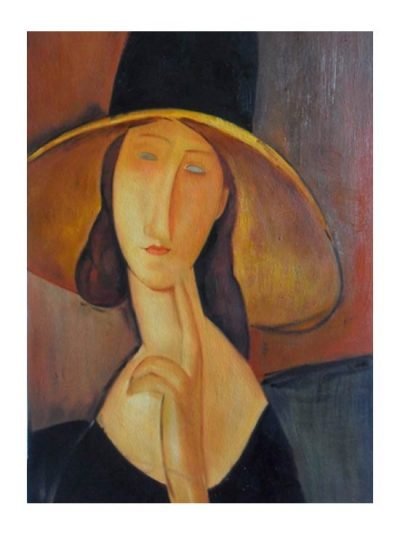 Donna con cappello