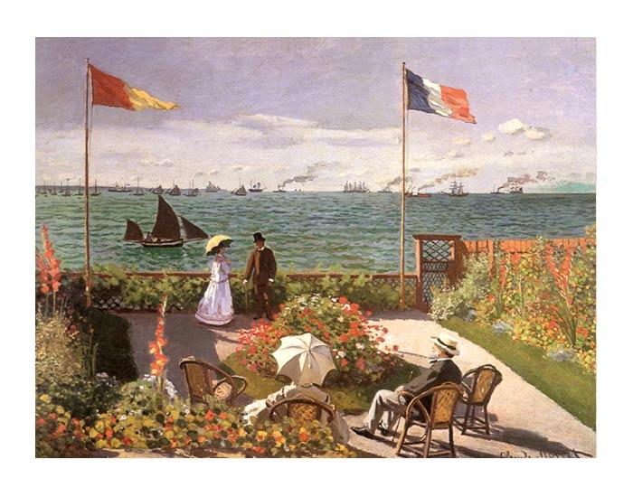 La terrazza a Sainte-Adresse