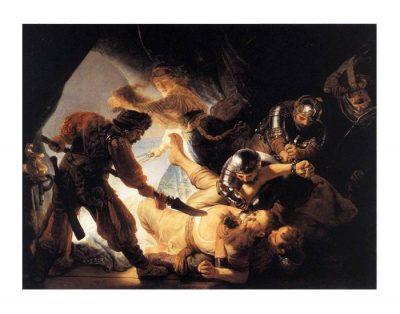 Sansone accecato dai filistei