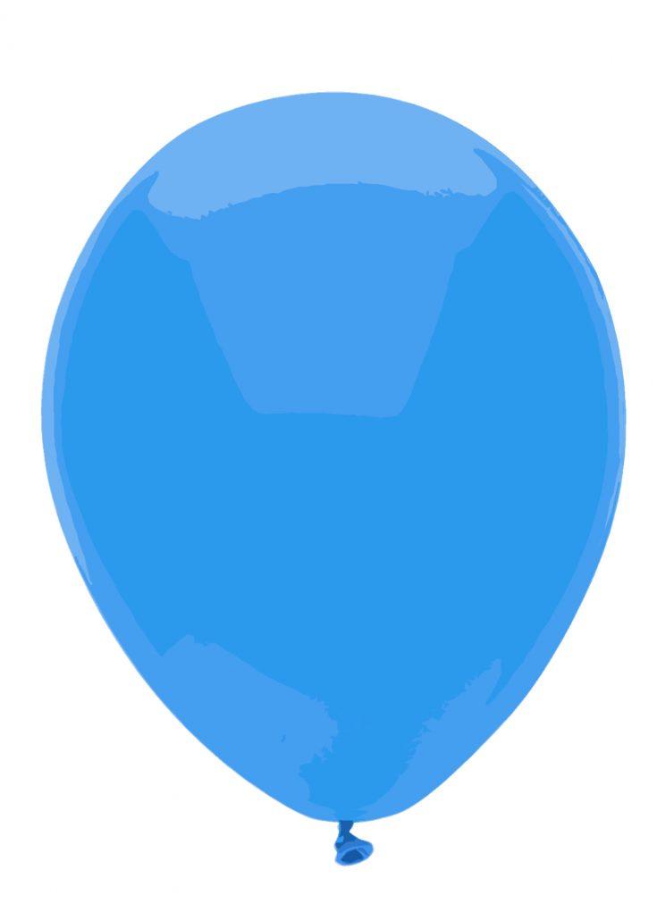palloncino blu autismo
