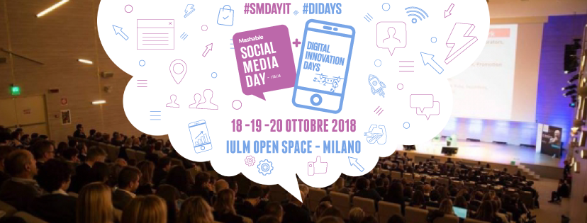 PHI Foundation media partner del Mashable SMDayItaly 2018 - PHI Foundation