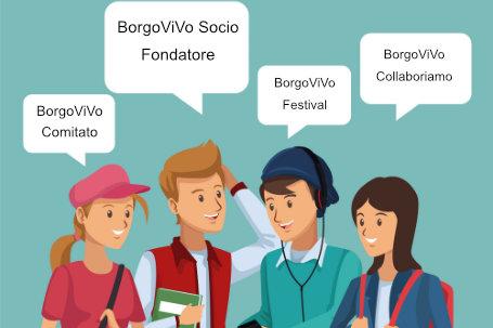 BorgoViVo è un programma volto alla valorizzazione Comuni a rischio spopolamento istituendo comunità solidali