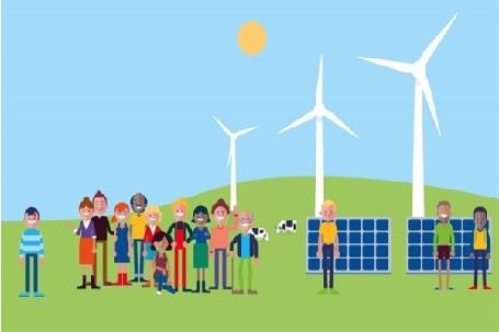 Le Comunità Energetiche consumano energia pulita autoprodotta da fonti rinnovabili come Biomasse, Fotovoltaico, Eolico,
